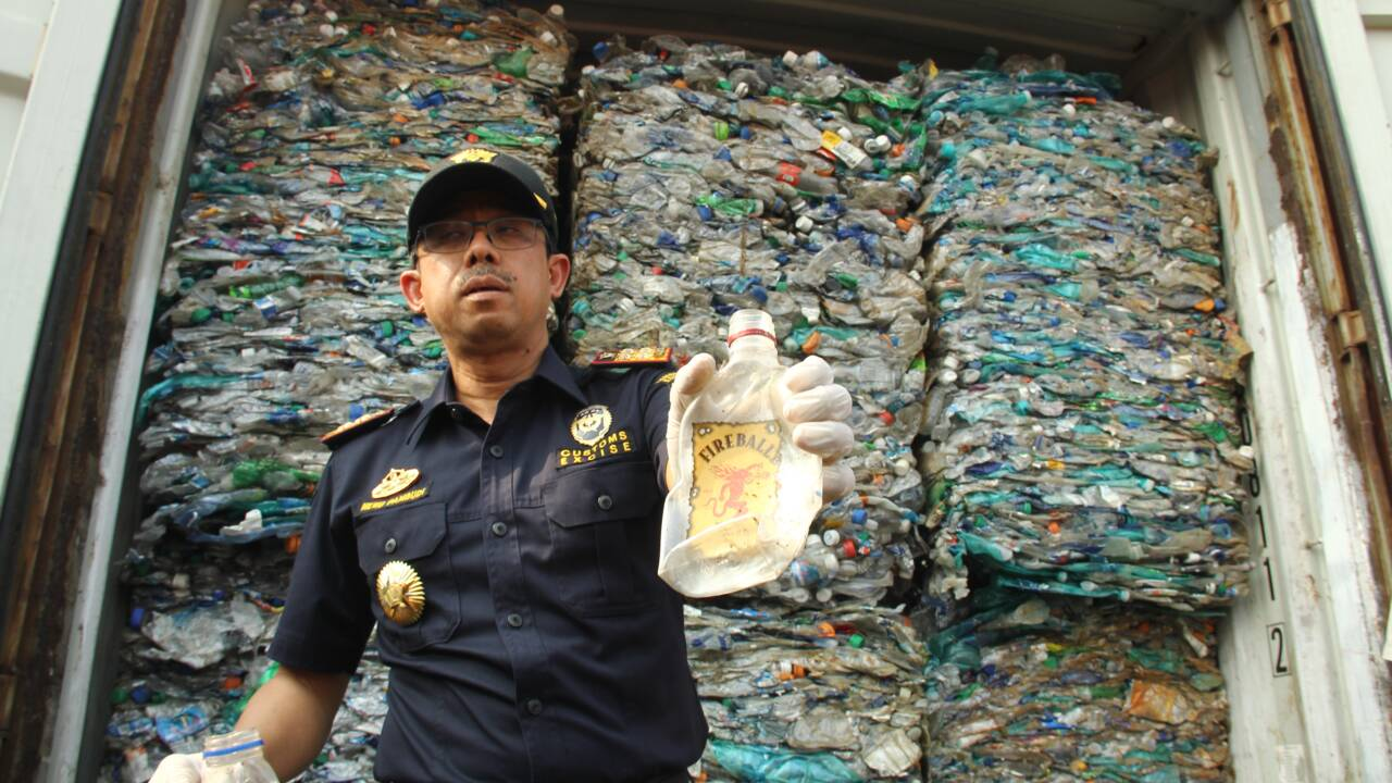Indonésie: 547 conteneurs de déchets renvoyés vers les pays développés
