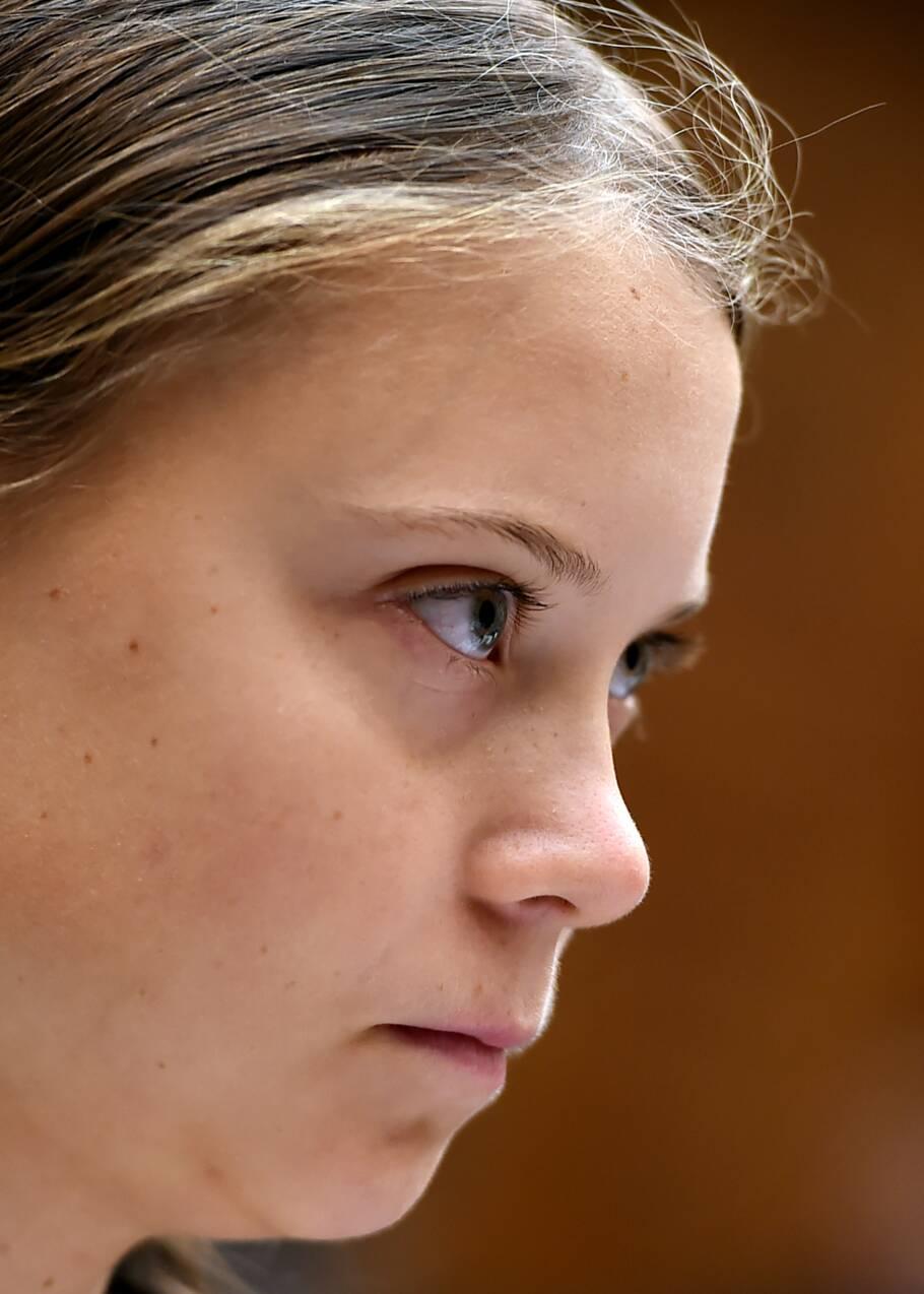 """""""Je veux que vous agissiez"""": Greta Thunberg interpelle le Congrès américain sur le climat"""