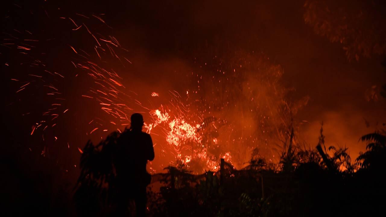 Incendies: fermeture de milliers d'écoles en Indonésie et en Malaisie