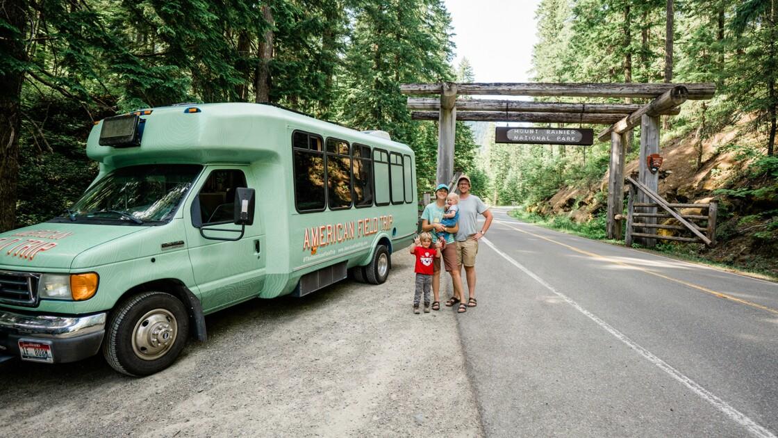 Avec leurs enfants, ils ont visité tous les parcs nationaux américains