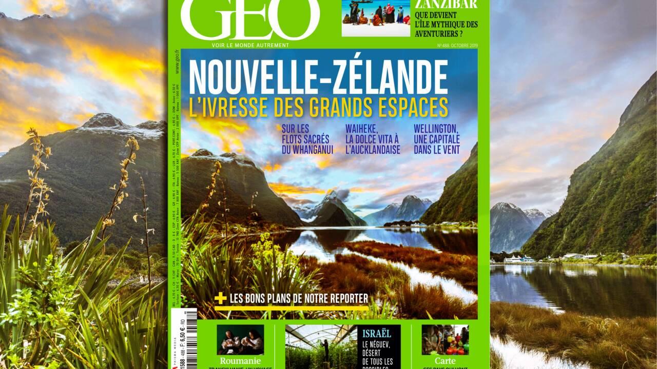 La Nouvelle-Zélande dans le nouveau magazine GEO