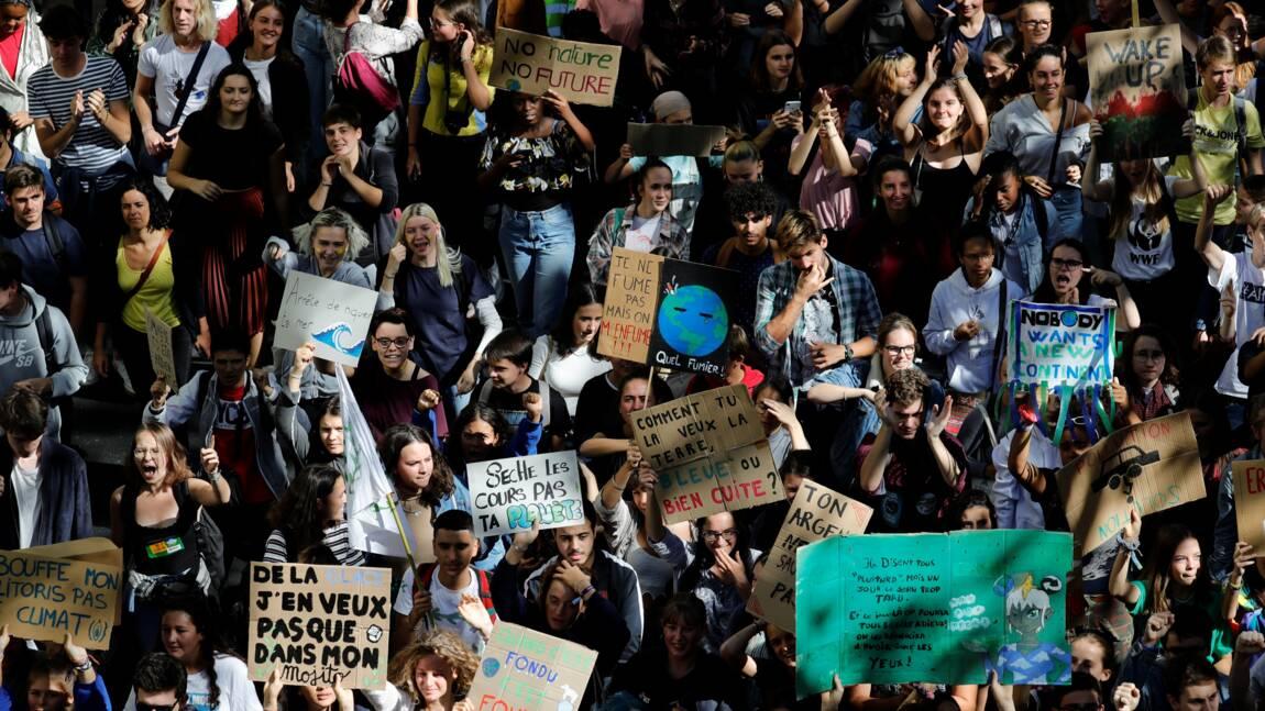 Pour le climat, des jeunes moins nombreux mais toujours motivés