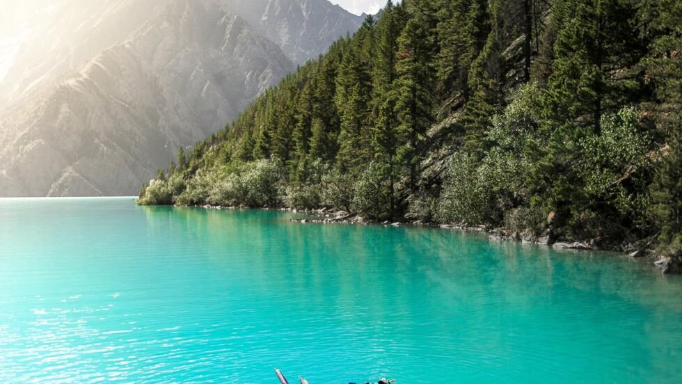 A 3600 m d'altitude, ils ont plongé dans le lac Phoksundo, bijou de l'Himalaya