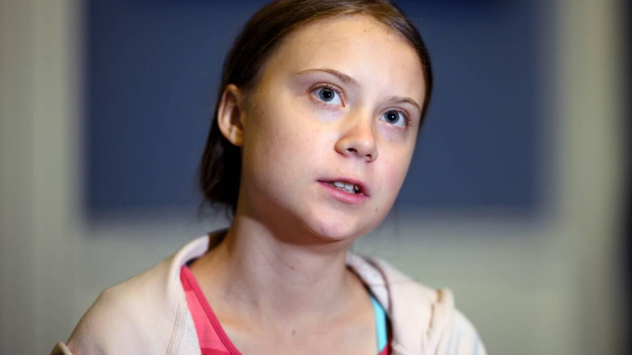 """Climat: Greta Thunberg espère que la société est à """"un tournant"""""""