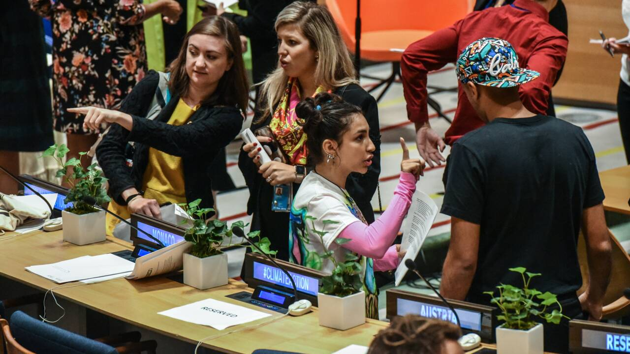 De la rue à l'ONU, les jeunes donnent de la voix sur le climat