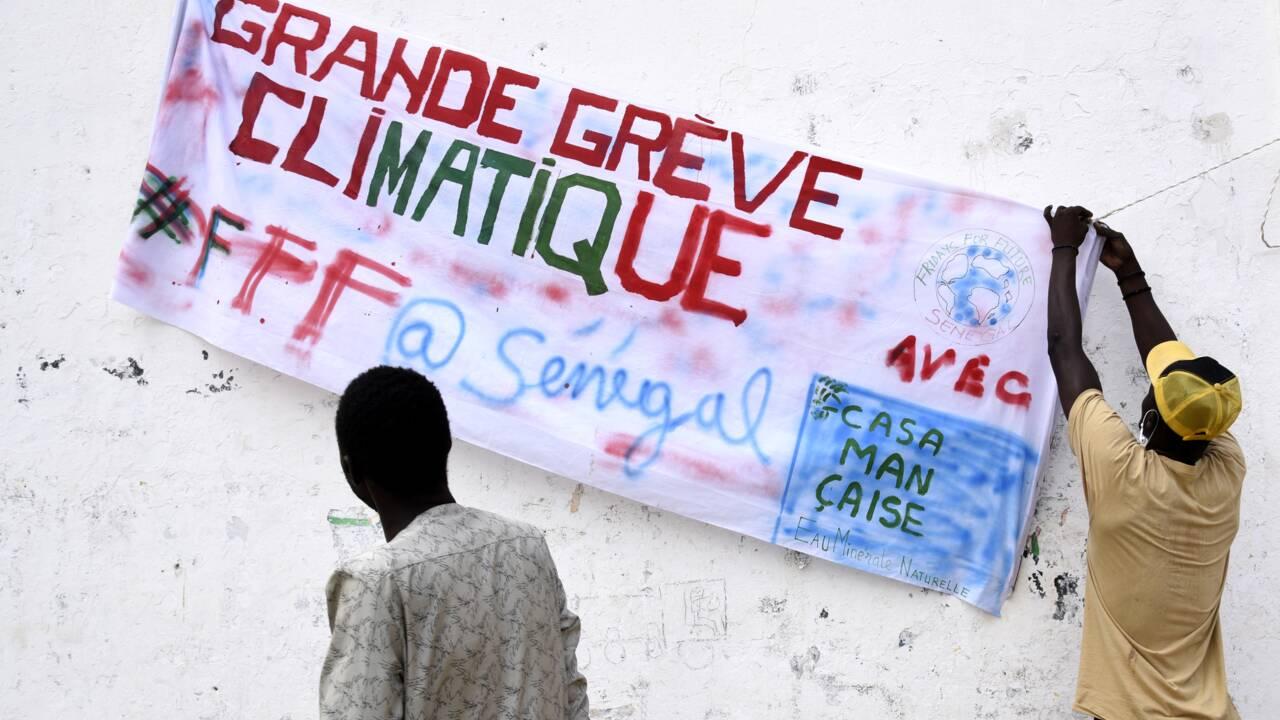 Au Sénégal, un étudiant paie d'une mâchoire fracturée son combat pour le climat