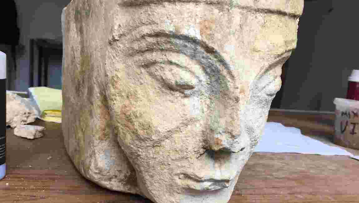 Une sculpture du Moyen Age à l'effigie présumée d'Aliénor d'Aquitaine découverte en Angleterre