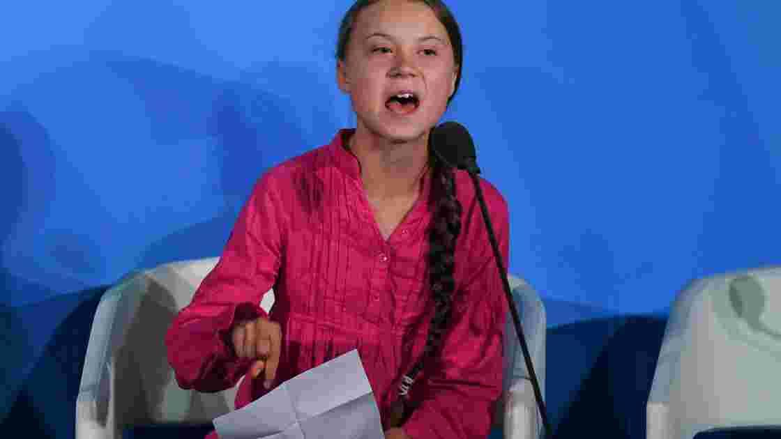 """La """"gentille fillette"""" Greta Thunberg raille Poutine"""