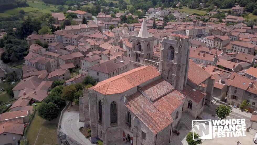 Prix du Public du Wonder France Festival : Collégiale de Saint-Bonnet-le-Château, Loire (42)