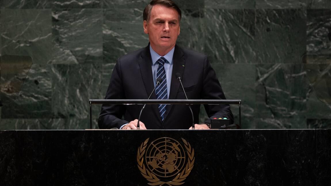 A l'ONU, Bolsonaro défend sa souveraineté sur l'Amazonie et attaque Macron