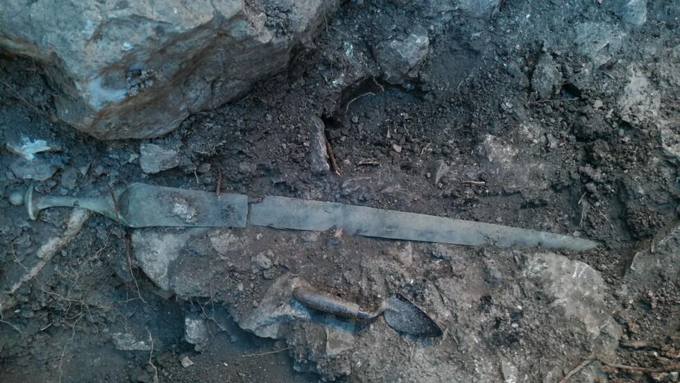 Une épée vieille de 3 200 ans découverte par hasard en Espagne