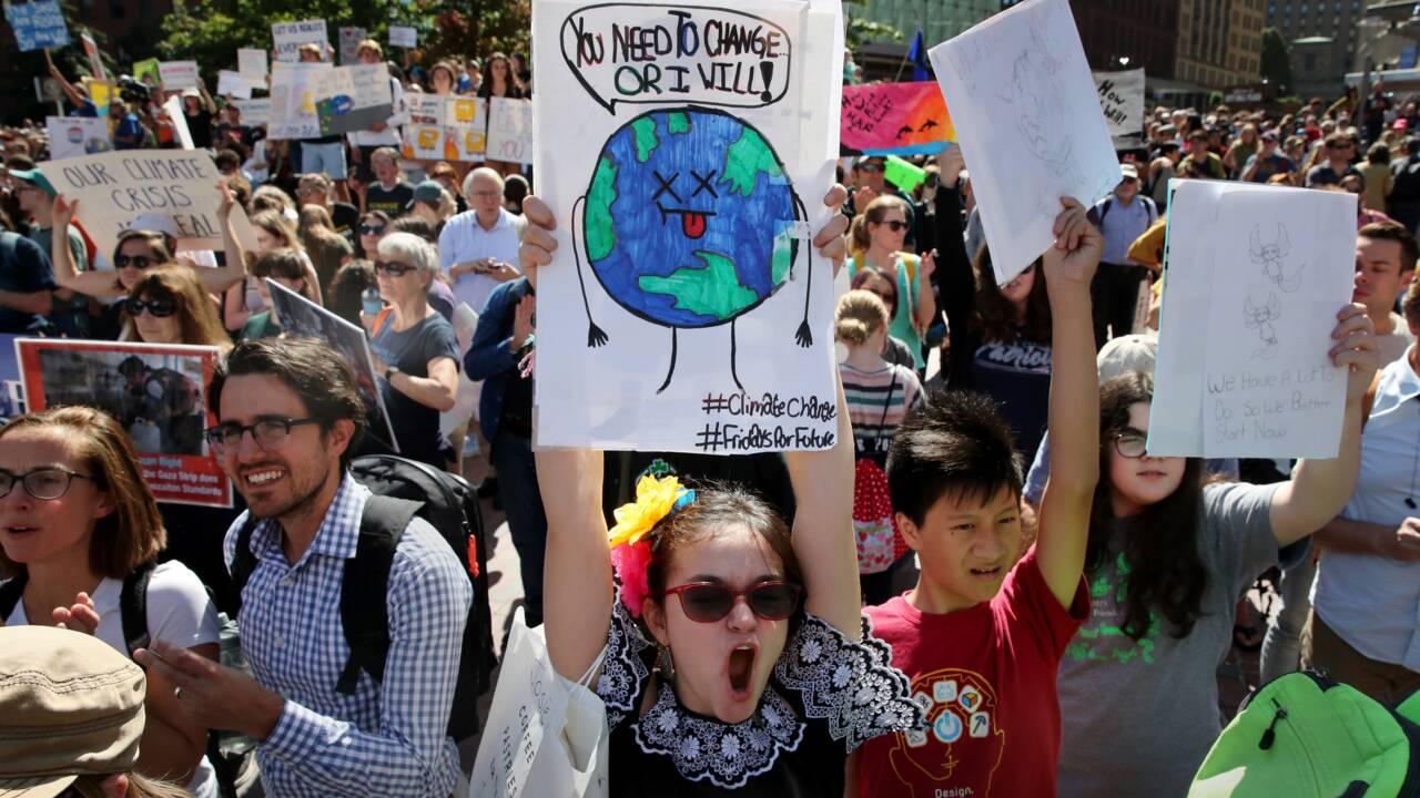 """La première """"Déclaration de la jeunesse mondiale sur le climat"""" dévoilée à l'ONU"""