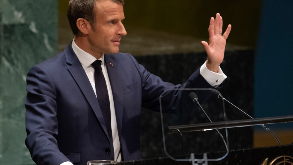 """Climat: Macron réclame la """"réconciliation"""" plutôt que """"la dénonciation"""""""