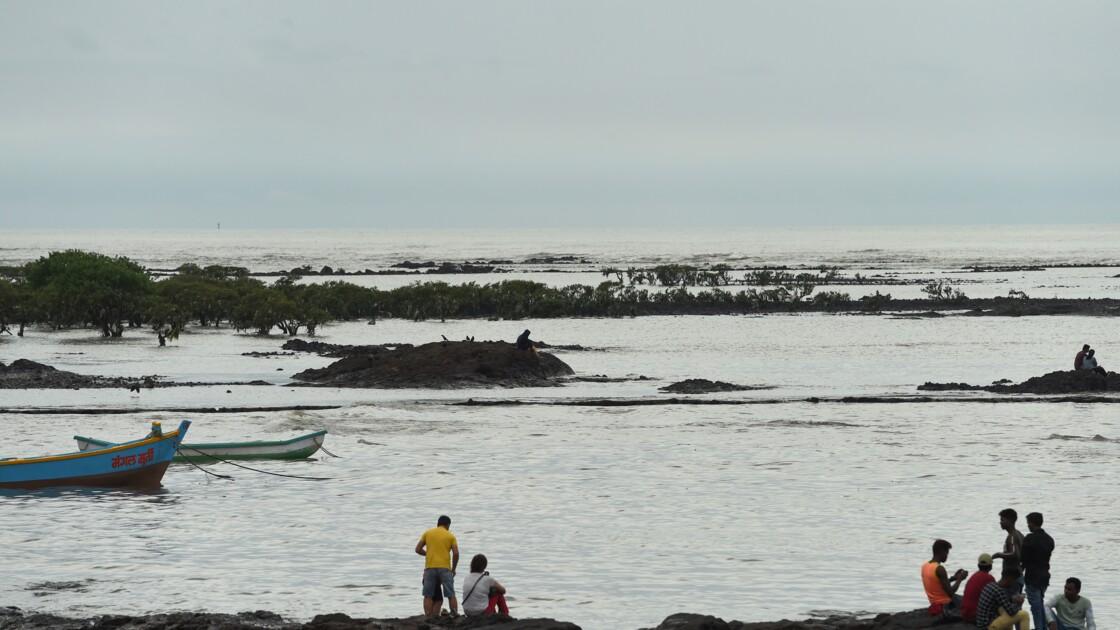 En Inde, Bombay vulnérable à la montée des océans