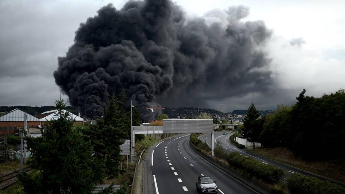 Lubrizol: l'enquête n'a pas encore permis de déterminer la localisation du départ de l'incendie