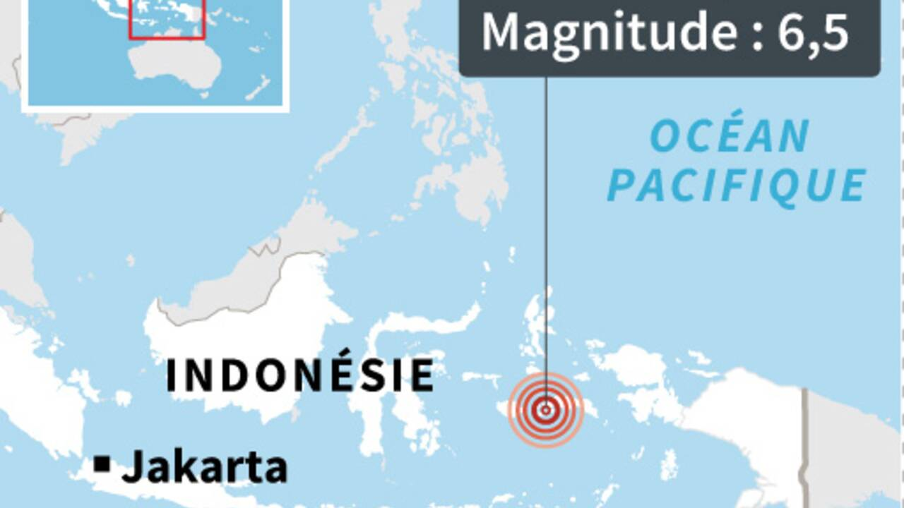 Un puissant séisme dans l'est de l'Indonésie fait vingt morts