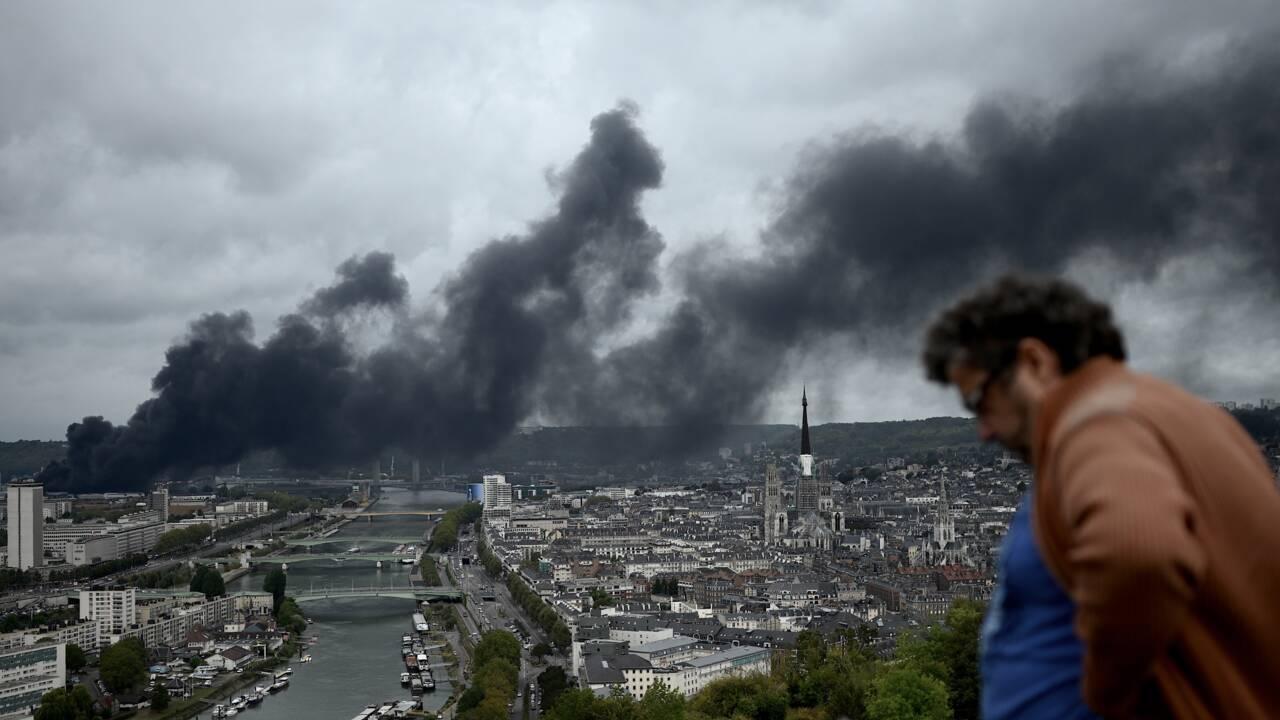 Incendie à Rouen: feu maîtrisé, les habitants de retour chez eux