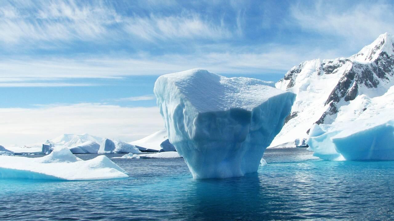 En Russie, des îles révélées à cause de la fonte des glaces