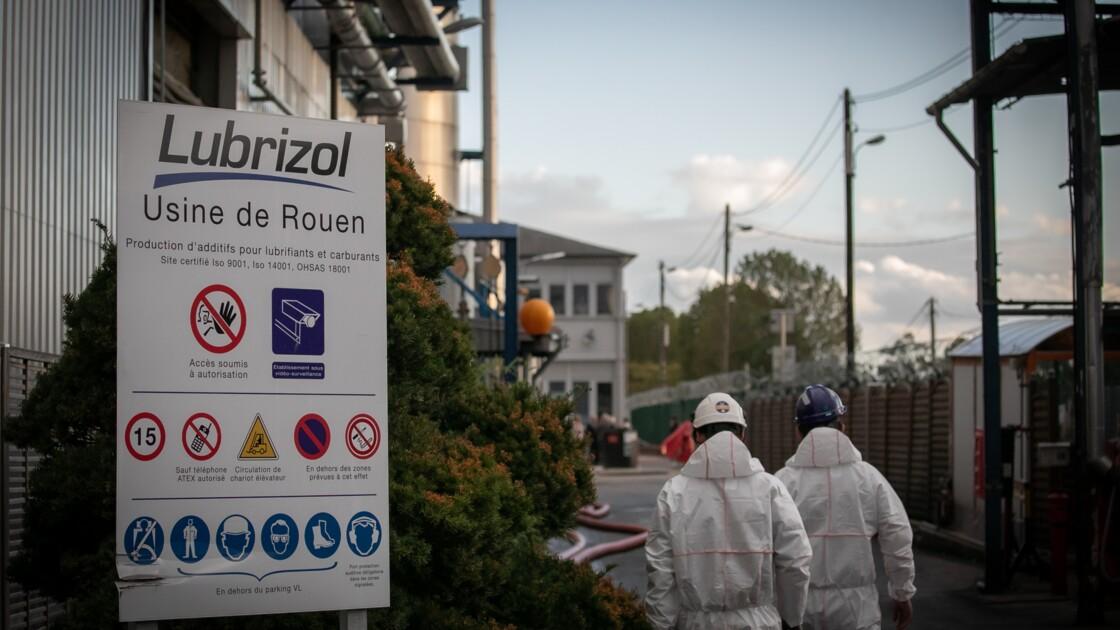 Lubrizol: l'incertitude demeure sur la quantité de produits incendiés