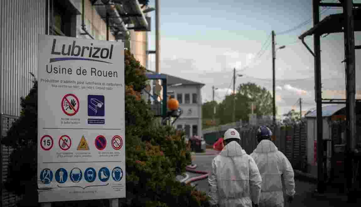 """Lubrizol: nouvelles analyses après des taux de dioxine """"importants"""""""