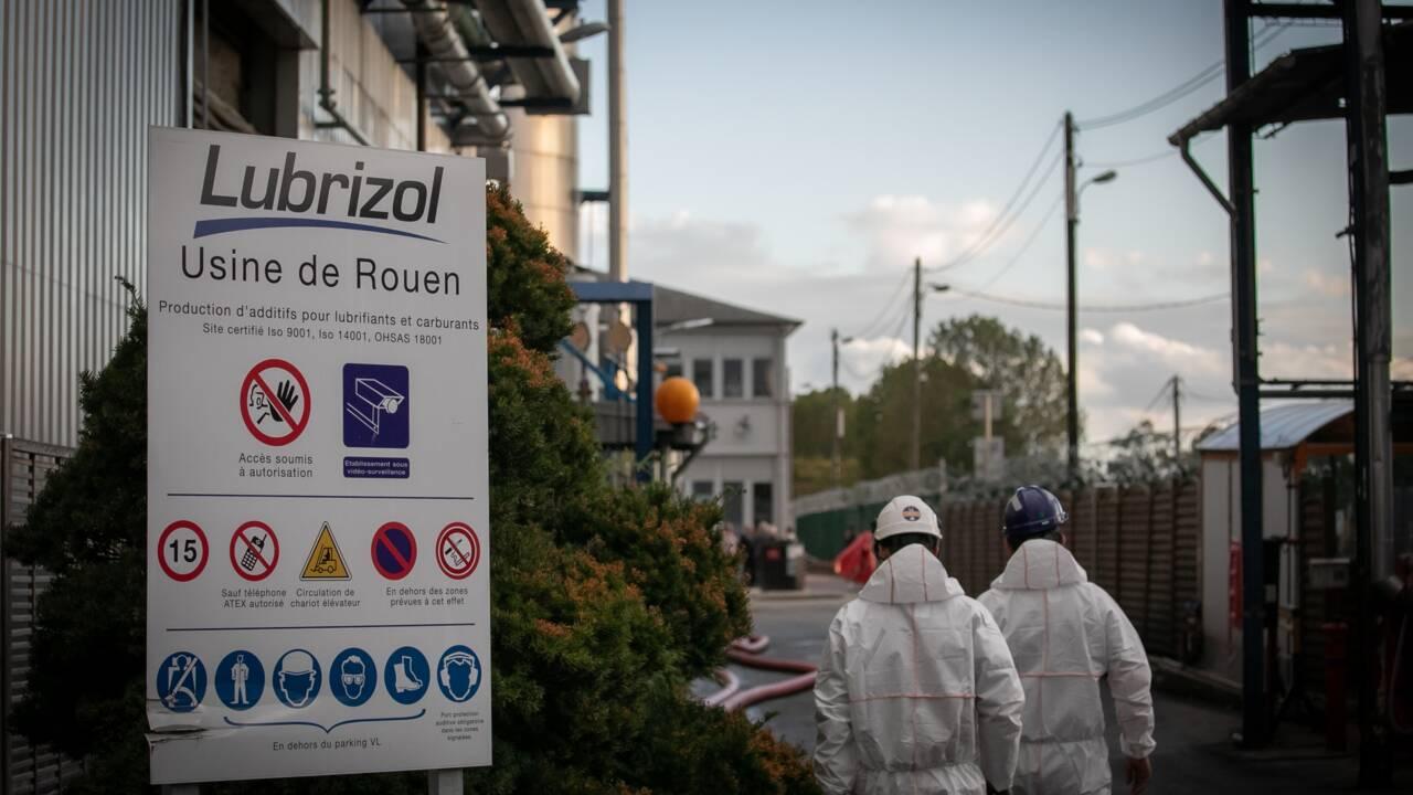 Incendie de l'usine de Rouen: les autorités ont publié les résultats des analyses
