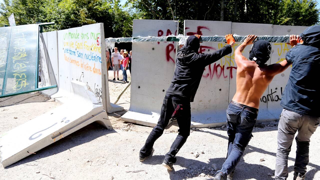 Nancy: manifestation contre l'enfouissement de déchets nucléaires à Bure