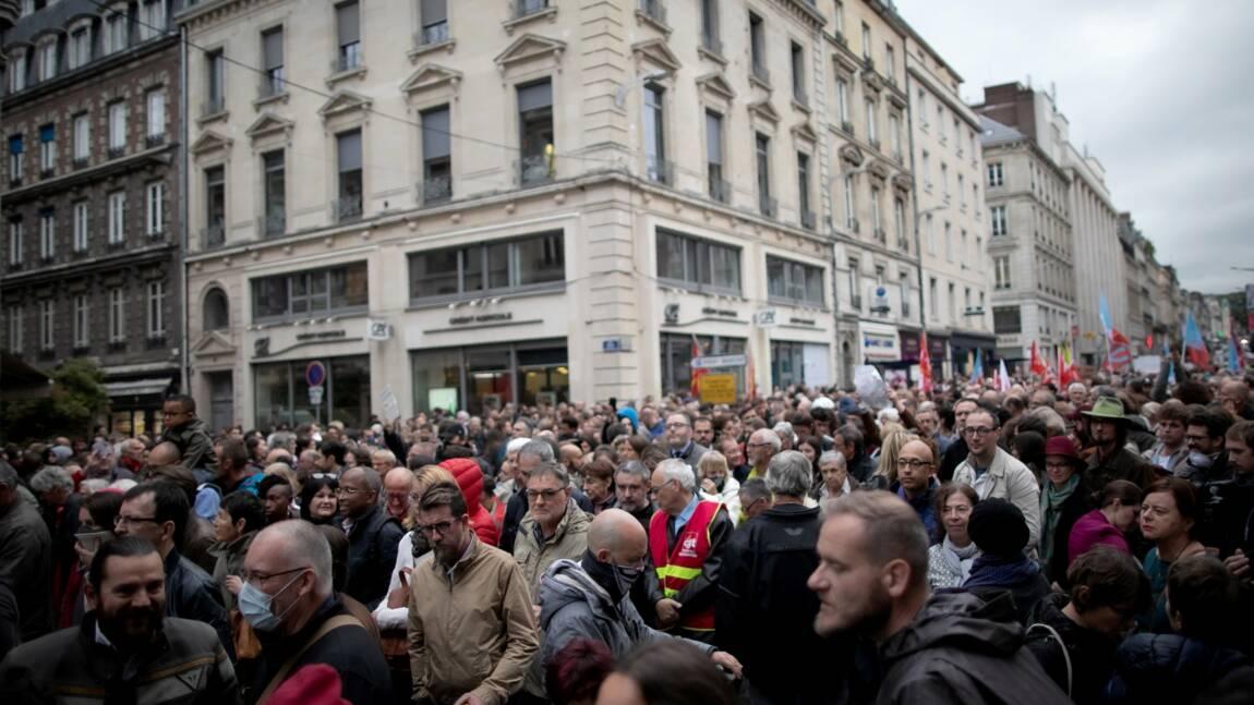 Lubrizol: plus de 5.000 tonnes de produits détruits, près de 2.000 manifestants à Rouen
