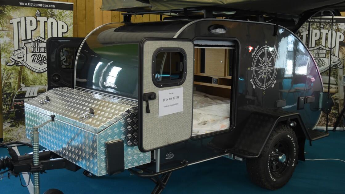 Les Français plébiscitent les petites caravanes pour mieux jouir de la nature en vacances