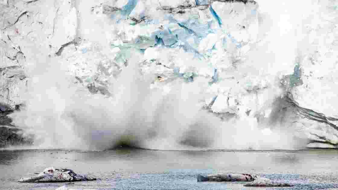 Un iceberg de 1.600 km² se détache en Antarctique (mais c'est normal)