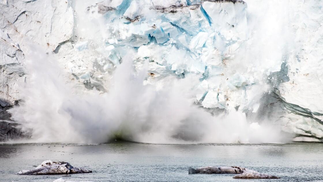 Fonte record de la calotte glaciaire du Groenland en 2019