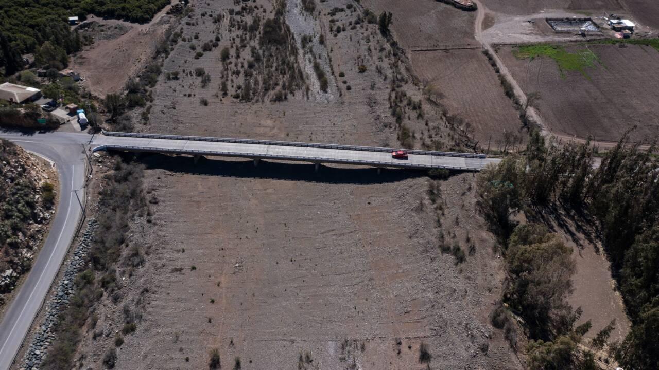 La sécheresse frappe de plein fouet le centre du Chili