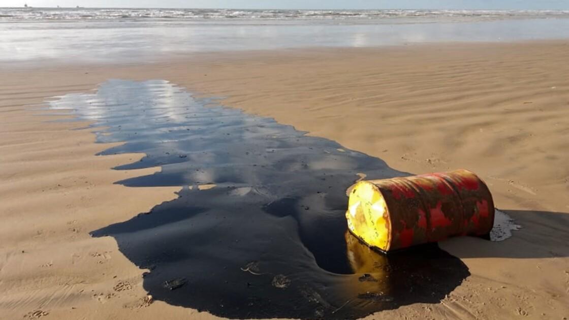 Pollution aux hydrocarbures sur des plages au Brésil