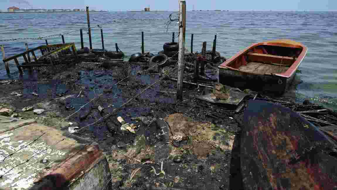 """Venezuela: dans le lac de Maracaibo, """"une marée noire permanente"""""""