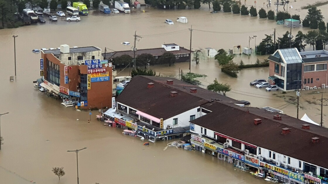 Typhon en Corée du Sud: au moins neuf morts