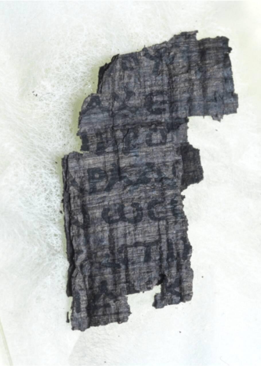 Des manuscrits calcinés par le Vésuve bientôt décryptés près de 2000 ans après ?