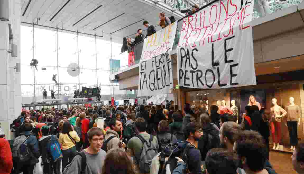 Climat: une occupation donne le coup d'envoi des actions d'Extinction Rebellion