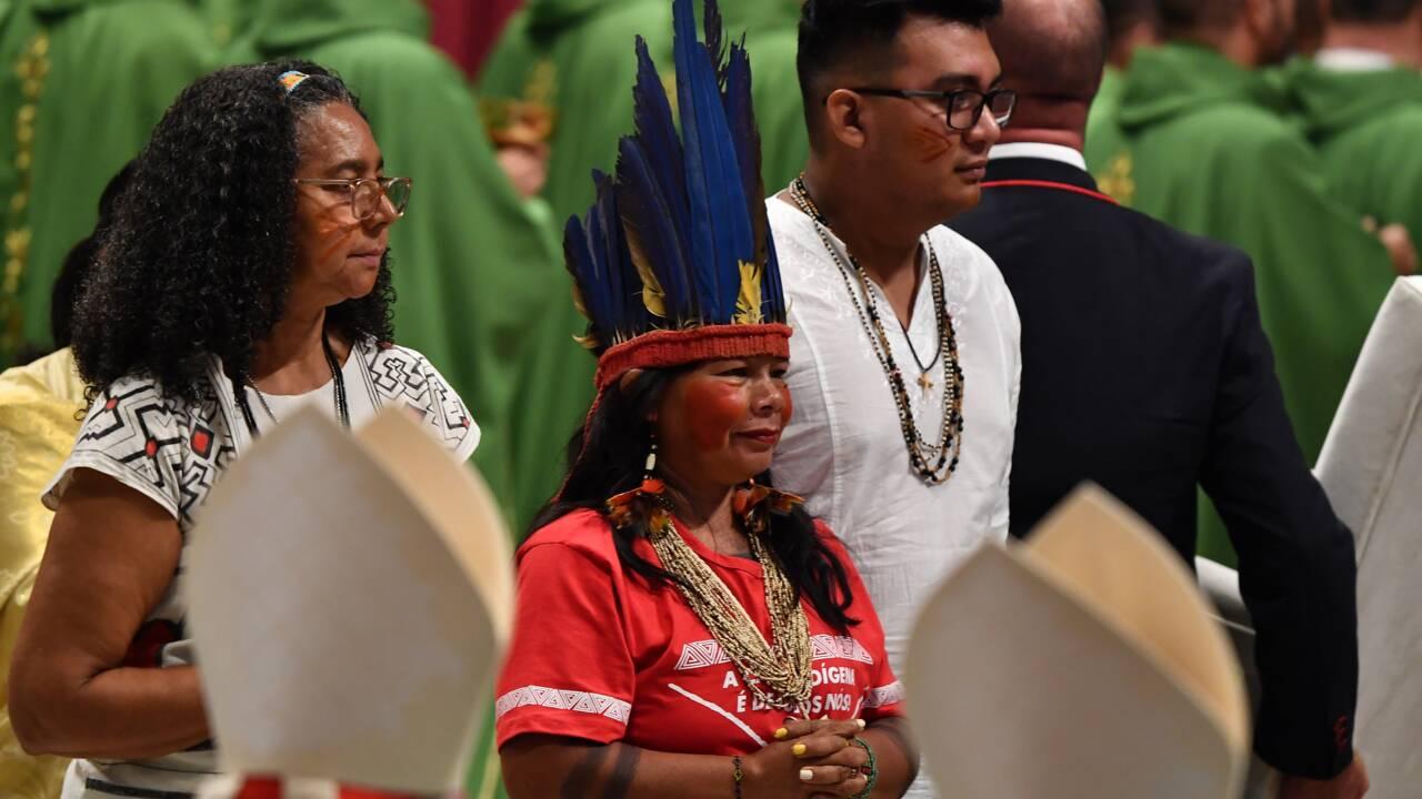 """Amazonie: le pape déplore les feux provoqués """"par des intérêts qui détruisent"""""""