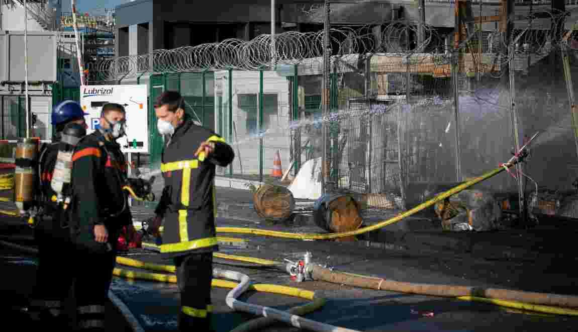 Lubrizol: pompiers et policiers intervenus sur site inquiets pour leur santé