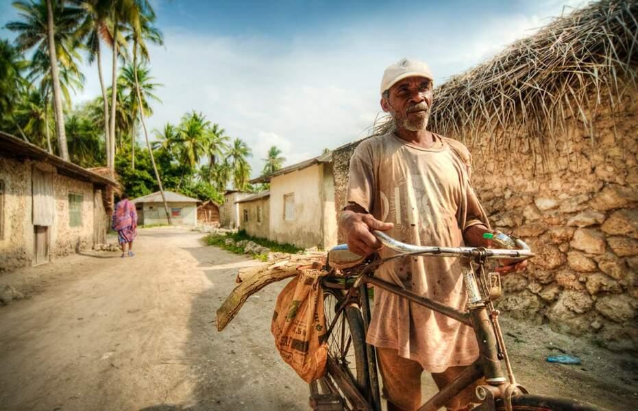 Rencontre avec un habitant d'un village de l'île