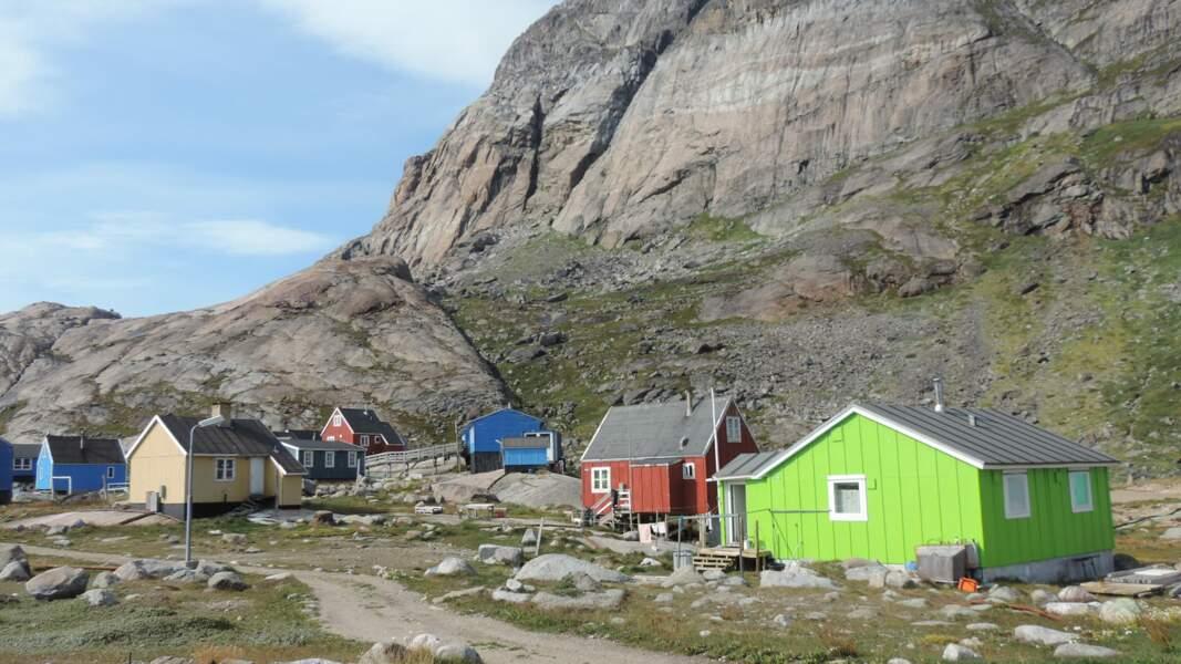 Des hameaux isolés et pimpants