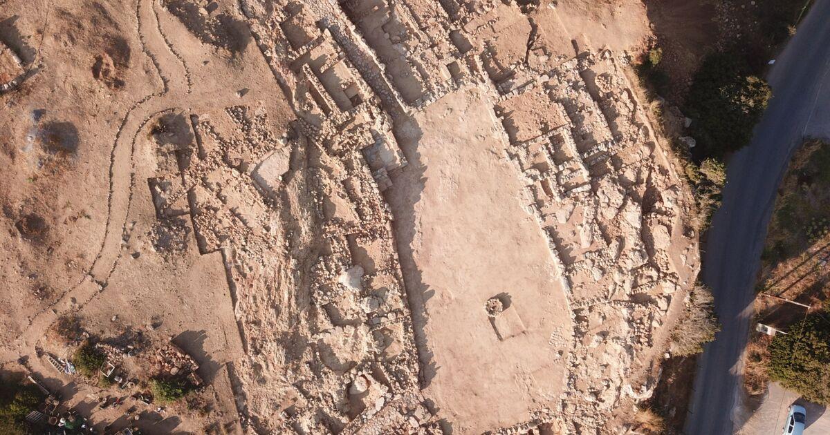 Le squelette d'une femme enterrée il y a 4 500 ans découvert en Crète