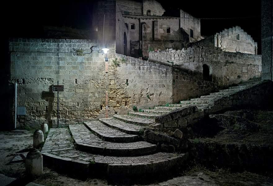 La nuit est calme à Matera