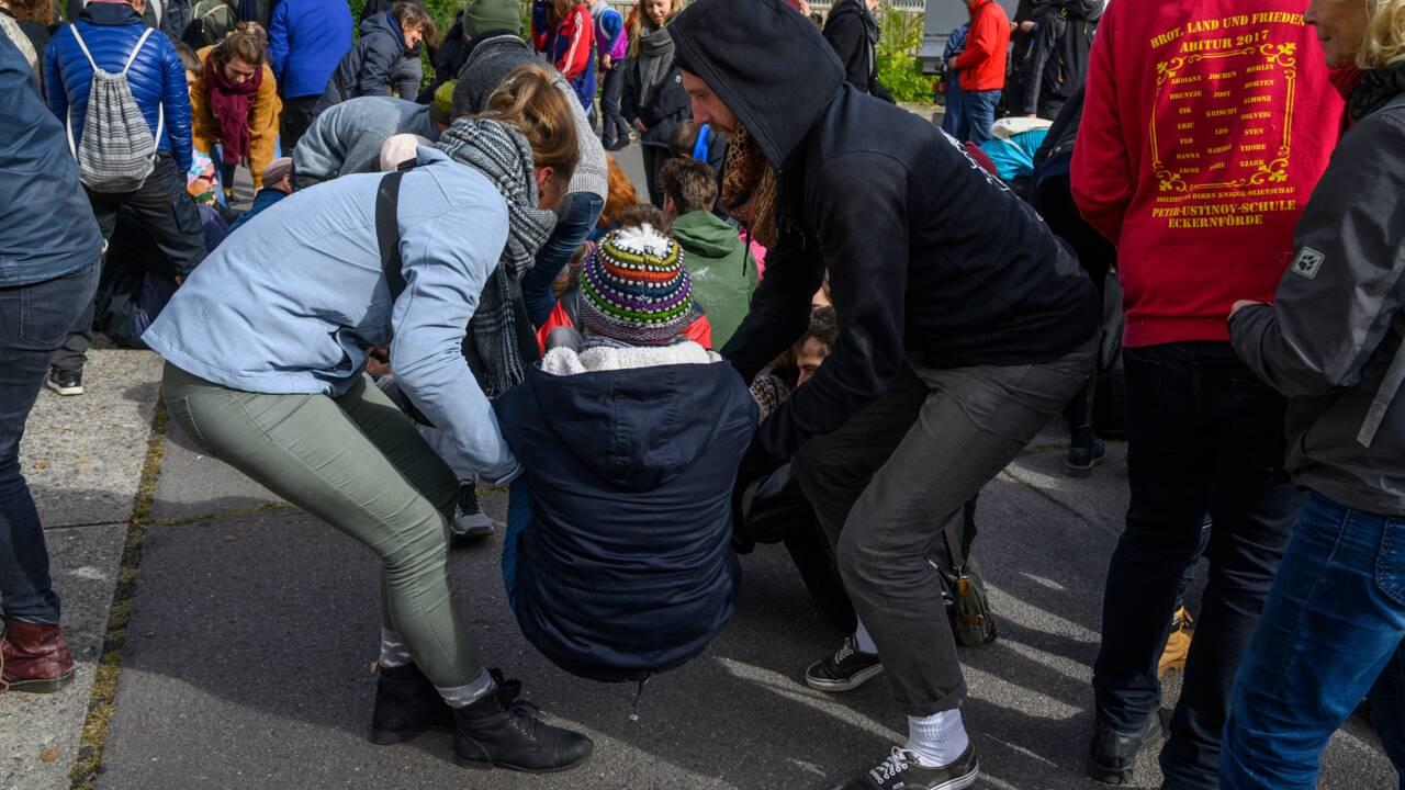 A Berlin, Extinction Rebellion forme ses troupes à la désobéissance civile