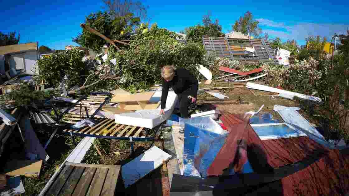 Une tornade violente et localisée s'abat sur un quartier d'Arles