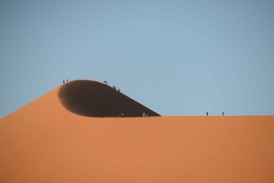 Voyage sur les dunes de Sossusvlei, en Namibie