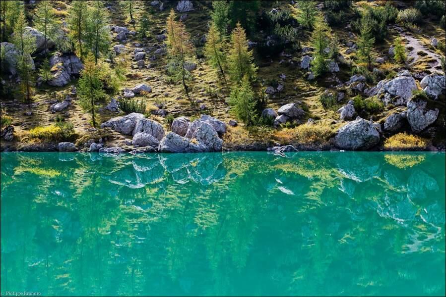 Lac Sorapis, 1923 mètres d'altitude