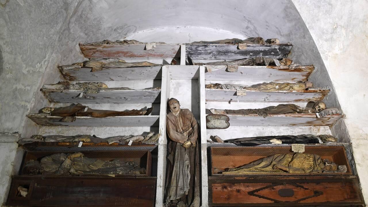 Sicile : à Palerme, ces impressionnantes momies qui ramènent le passé à la vie