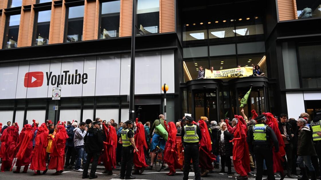 Extinction Rebellion continue ses actions à Londres, les géants tech visés