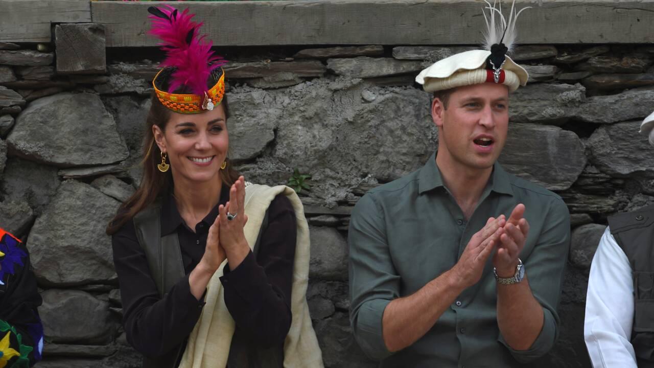 Le prince William et Kate observent le changement climatique sur un glacier du Pakistan