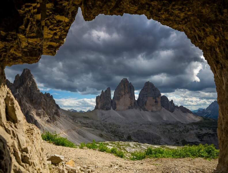 Bienvenue dans un décor naturel spectaculaire : les Tre Cime di Lavaredo